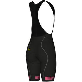 Alé Cycling Graphics PRR Strada Pantaloncini Donna, black-fluo pink